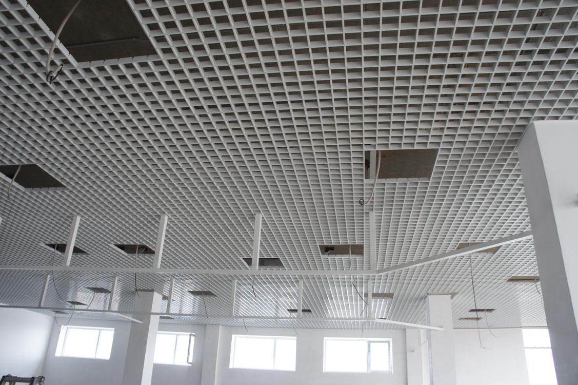изготовления подвесные решетчатые потолки фото создания